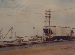 Idaho Train Cars, Copyright 2010, Max Bechtle
