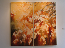 Blossoming Tree:  Breezy, Copyright 2005, Kathleen Larisch