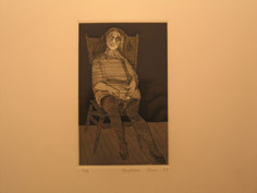 Untitled (Seated Woman), Copyright 2004, made in California