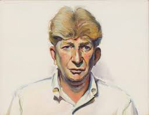 Portrait of Sterling Holloway, Copyright 2018, b. sakata garo